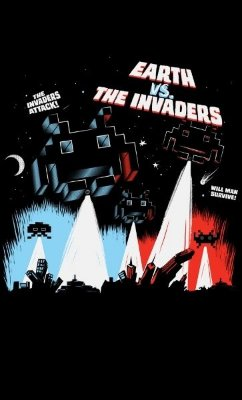 Camiseta Earth vs The Invaders