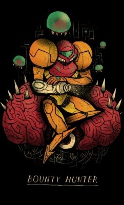 Camiseta Metroid Bouty Hunter