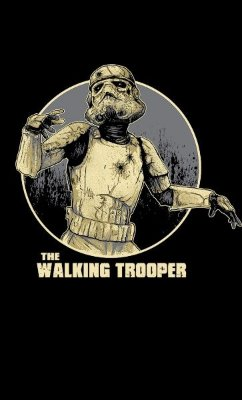 Camiseta  Star Wars: The Walking Trooper