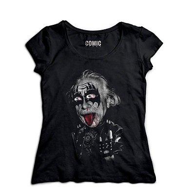 Camiseta Albert Einstein rockstar