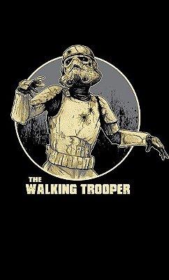 Camiseta  Star Wars: The Walking Trooper