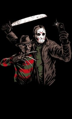 Camiseta Freddy Krueger & Jason