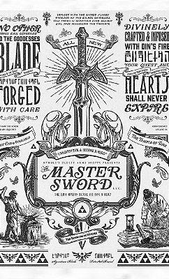 Camiseta Legend of Zelda: Master Sword
