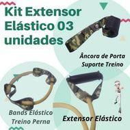 Kit Extensor Elástico 03 unidades - personalize o seu 💯% Off