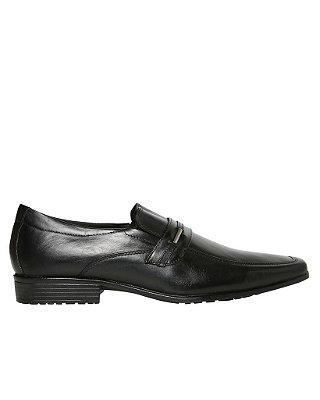 Sapato Social Couro Man - Preto