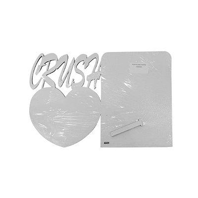 Porta Retrato Crush de MDF Branco