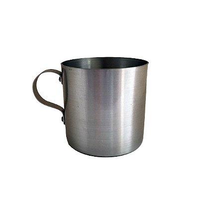 Caneca de Alumínio 300 ml Prata