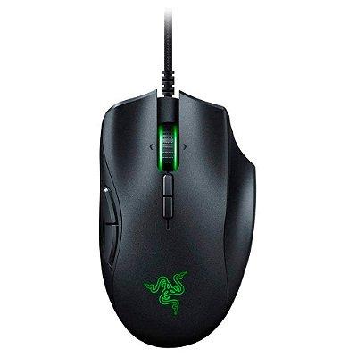 Razer Mouse para jogos Naga Trinity: Sensor óptico de 16.000 DPI - Iluminação Chroma RGB - Placa lateral intercambiável com configurações de 2, 7, 12 botões - Interruptores mecânicos (Encomenda, 10 Dias úteis)