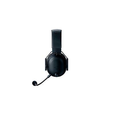 Razer Fone de ouvido para jogos sem fio BlackShark V2 Pro: THX 7.1 Som Spatial Surround - Drivers de 50 mm - Microfone destacável - para PC, PS4, PS5, Switch, Xbox One, Xbox Series X|S - Entrada de áudio de 3,5 mm - Preto (Encomenda, 10 Dias úteis)