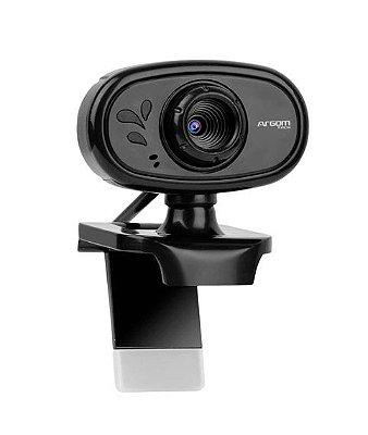 WebCam Argom Tech CAM20, HD 720P - ARG-WC-9120BK (PRONTA ENTREGA, 2 Dias úteis)