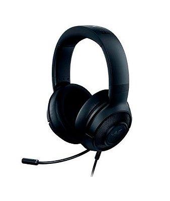 Headset Gamer Razer Kraken X Lite, P2, Drivers 40mm - RZ04-02950100-R381 (PRONTA ENTREGA, 2 Dias úteis)
