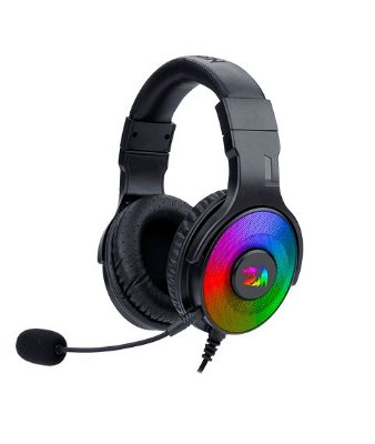 Headphone Redragon pandora h350 rgb backlighting gaming (PRONTA ENTREGA, 2 Dias úteis)