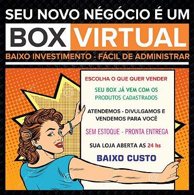 Box Virtual Anual com 30 Produtos - Criação de Logotipo - Cupom de Desconto e Banner Redes Sociais