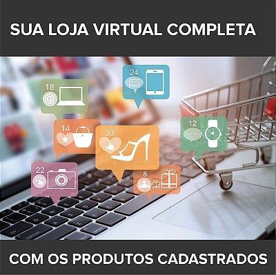 -Código10-: Criamos sua Loja Virtual com os Produtos Cadastrados e sem Estoque