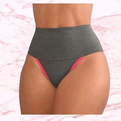 """-Andreza Store-: Kit com 10 Calcinhas Fitness """"Milano"""" - Modeladoras - Compressão - Até XL"""