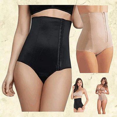 Moda Gestante: Kit 3 Cintas Modeladoras Pós Parto ou Cirurgia - 2 Cores - Tamanho até GG