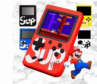 Mini Video Game Retrô Portátil Sup Standard - 400 Jogos do Super Nintendo