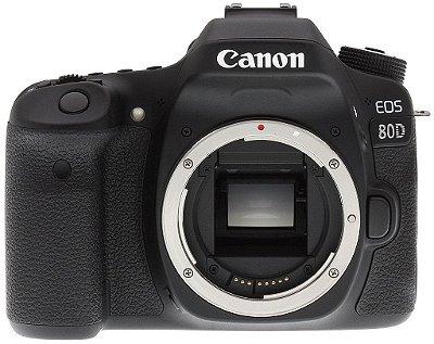 Canon Eos 80d Corpo 24mp Wifi Nfc