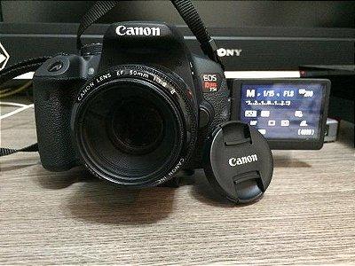 Canon t5i kit EF 50M F 1.8 STM