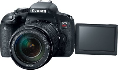 Canon Eos 77d 24.2mp Lente 18-135mm
