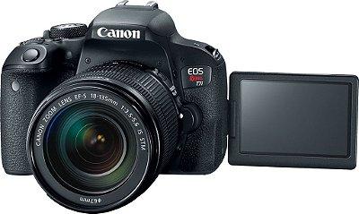 Canon Eos 77d 24.2mp Lente 18-135mm