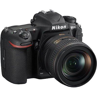 Nikon D500 DX 4K com 16-80mm f2.8-4E ED VR