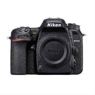 NIKON D7500 CORPO 20.9 MP, 4K, WI-FI