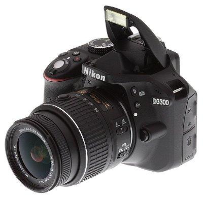 Nikon DSLR D3300 + Lente VR 18-55