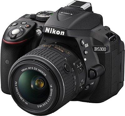 Nikon D5300 + Lente VR 18-55