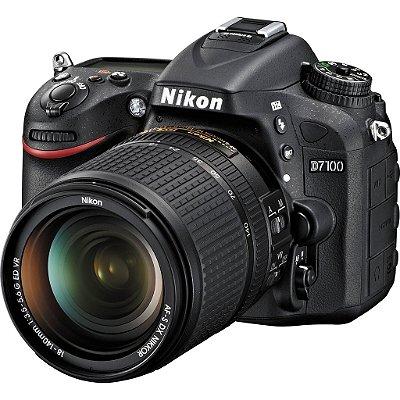 Nikon D7100 Af-s Dx 18-140mm F/3.5-5.6g Ed Vr