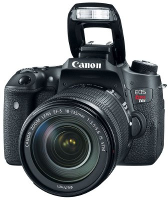 Canon Eos Rebel T6s kit EF-S 18-135mm f / 3.5-5.6 IS STM
