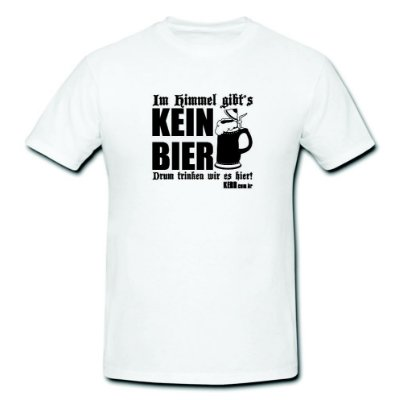 Camiseta Kerb - Kein Bier