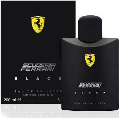 Perfume Ferrari Black 200ml EDT Masculino