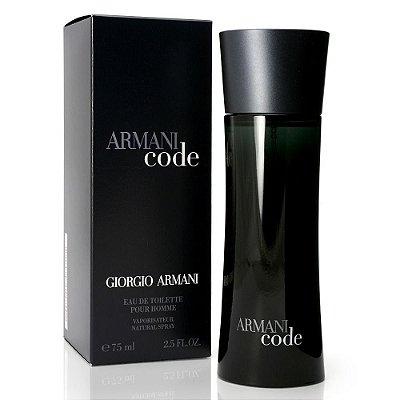 Perfume Armani Code 50ml 75ml Giorgio Armani Masculino EDT