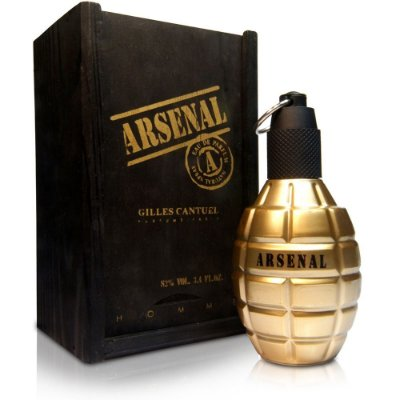 Perfume Arsenal Gold 100ml Masculino Eau de Parfum Gilles Cantuel