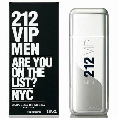 Perfume 212 Vip Masculino 100ml Carolina Herrera