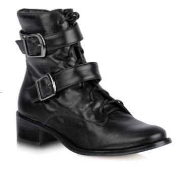 BOTA LEATHER PRETO