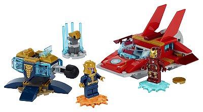 Lego Iron Man vs. Thanos