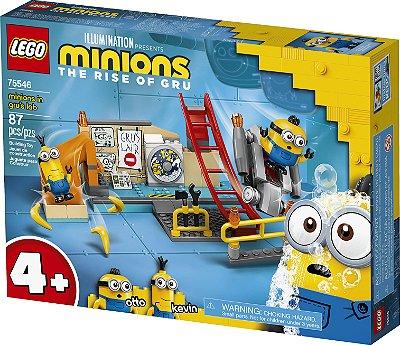 Lego Os Minions no Laboratório de Gru