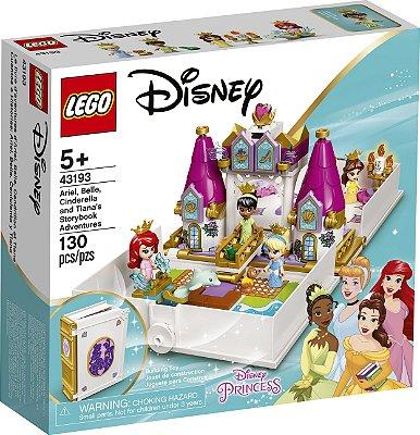 Lego O Livro de Histórias e Aventuras de Ariel, Bela, Cinderela