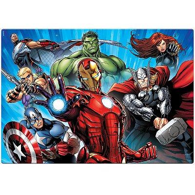 Os Vingadores - Quebra-cabeça - 120 peças Grandão