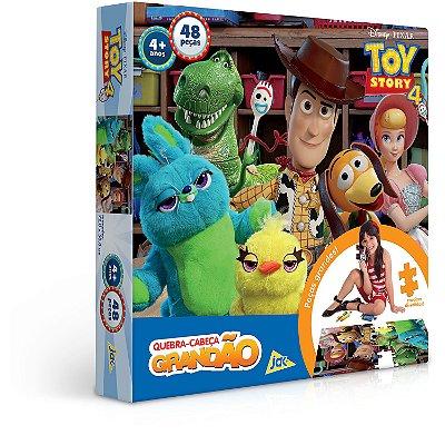 Toy Story 4 - Quebra-cabeça - 48 peças Grandão