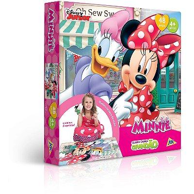 Minnie Mouse - Quebra-cabeça - 48 peças Grandão