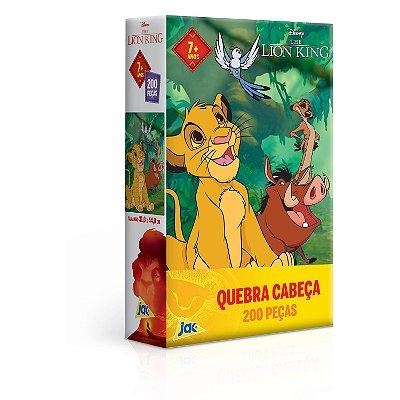 O Rei Leão - Quebra-cabeça 200 peças