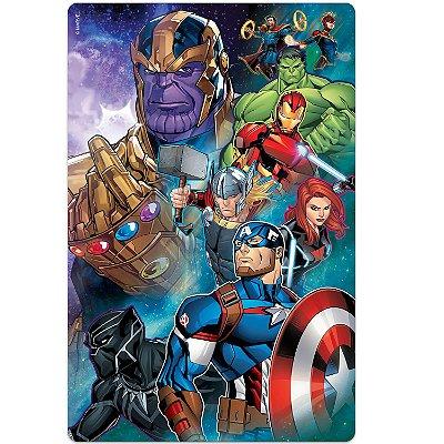 Os Vingadores - Quebra-cabeça - 100 peças