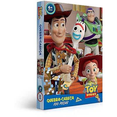 Toy Story 4 - Quebra-cabeça - 100 peças