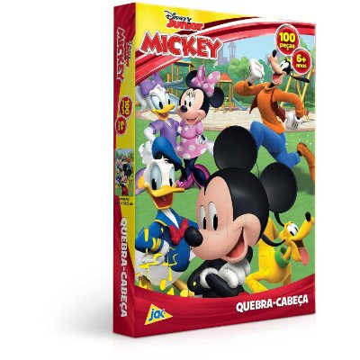 Mickey - Quebra-cabeça - 100 peças