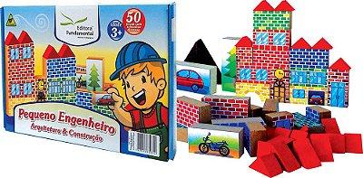 Pequeno Engenheiro Arquitetura e Construção 50 Peças