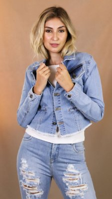 JAQUETA 2790 JEANS HANNA - DESTROYED