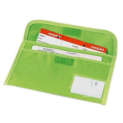 Bolsa porta documentos de viagem